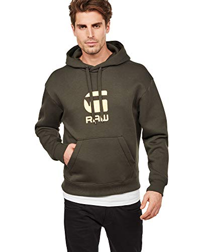 G-STAR RAW Herren Togrul Stor Hooded Sweater
