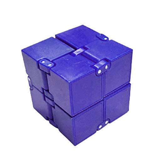 YUEQI Infinity Cube Fidget Toy Würfel Unendlicher Cube Magic Unendlicher Flip Würfel Dekompression Spielzeug zum Stressabbau Zappeln Anti-Angst-Stress für Kinder Erwachsene Tötungszeit
