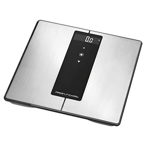 bilancia pesapersone diagnostica ProfiCare PC-PW 3008 BT 9 in 1 - Bilancia diagnostica in acciaio INOX con funzione Bluetooth