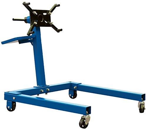 BGS 9230 | Motorständer XL | 560 kg | 360° drehbar | Motorheber | Klauenheber | Motorwagen | Motorhalter | Getriebehalter