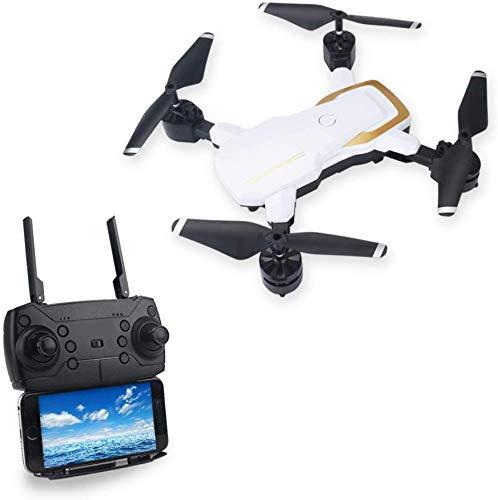 L.TSA Drone WiFi APP Steuerung Quadrocopter und 2MP 720P Weitwinkelkamera Live-Videobildübertragung LED-Leuchten bewegen Sich in großer Höhe Wartungsmodus Hubschrauber Weiß