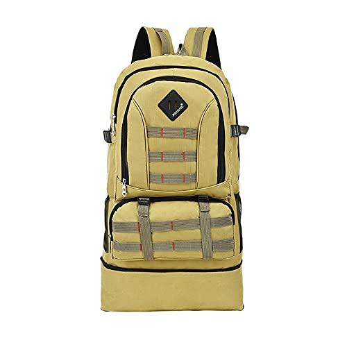 Grevosea Mochila de viaje, senderismo, camping, mochila para deportes al aire libre, bolsa para senderismo, ciclismo, camping, caza, escuela