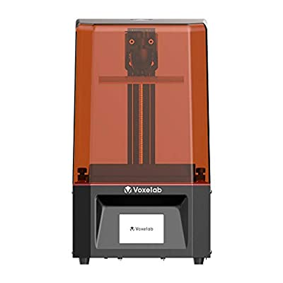"""Voxelab Polaris 3D Printer UV Photocuring Resin 3D Printer Assembled with 3.5''Smart Touch Color Screen Off-line Print 4.53""""(L) x 2.56""""(W) x 6.1""""(H) Printing Size (Polaris)"""