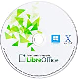 LibreOffice Suite 2020 Home Student Professional & Business Compatible With Microsoft Office Word Excel & PowerPoint Software CD for PC Windows 10 8.1 8 7 Vista XP 32 & 64 Bit, Mac OS X and Linux