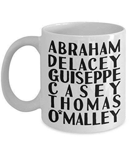 N\A Thomas O 'Malley The Aristogatos Taza de café Taza de té Cita Divertida Idea de Regalo para él o Ella Mujeres y Madre Día del Padre Hermana Hermano Padre