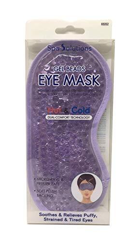 Cala Lavender gel beads eye mask