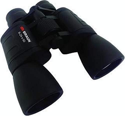Braun–Prismáticos Zoom 10–30x 60prismáticos de Porro–Negro