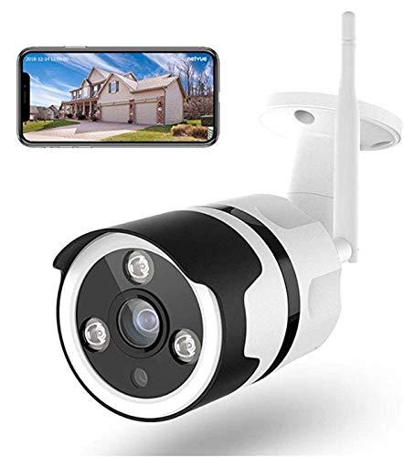 GIAOGIAO WLAN-WiFi HD-Überwachung im Freien wasserdichte 1080P-Kamera-Speichernetz-Überwachungskamera