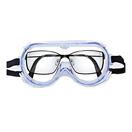 Lowest Price! no logo WHZJXB-ZYP Splash Goggle Glasses Safety Goggles Economy Clear Anti-Fog Lens Ey...