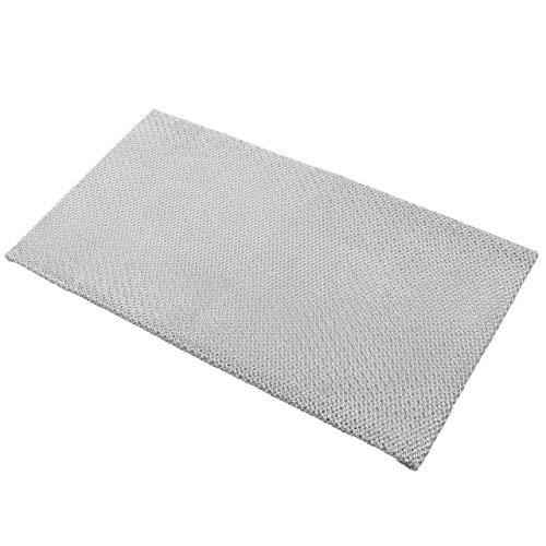 vhbw Filter Metallfettfilter, Dauerfilter 36,6 x 20,1 x 6 cm passend für AEG 330D-g 94211730400, 511 D - D 61041003100 Dunstabzugshaube