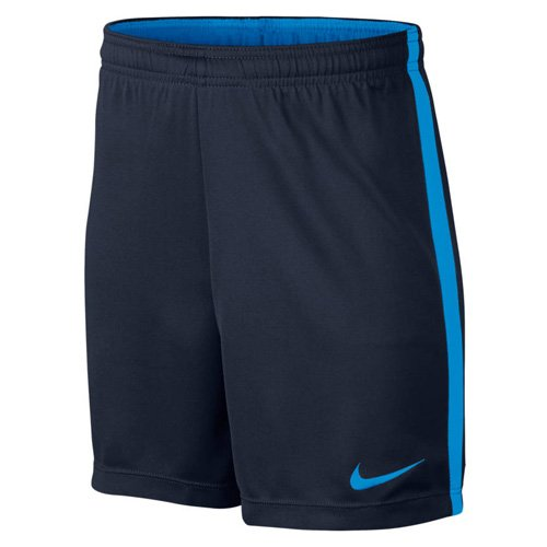 Nike - Dry Academy - Short de Foot - Mixte Enfant - Bleu (Obsidian Blau/Blauer Held) - Taille: M