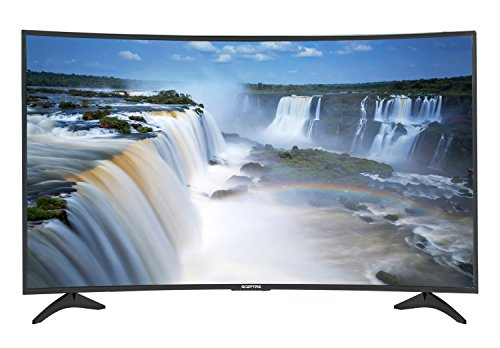 Sceptre Curved 55-Inch 4K Ultra High Definition 3840 x 2160 UHD LED TV C558CV-U (Metal Black 2018)