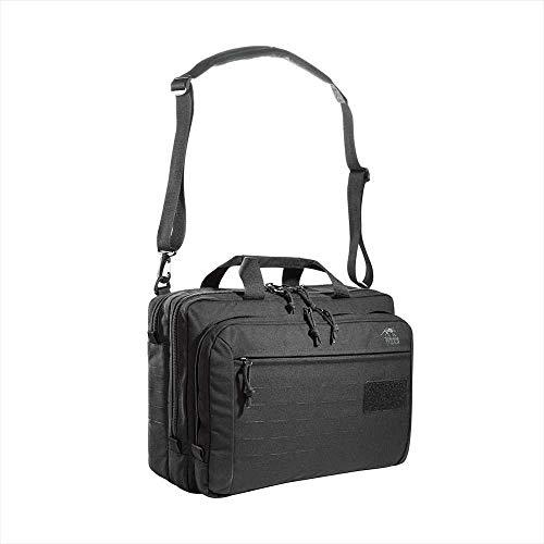 Tasmanian Tiger TT Document Bag MKII Taktische Akten-Tasche, Packtasche, Organizer Dokumenten-Tasche mit Laptop-Fach 18 Liter (Schwarz)
