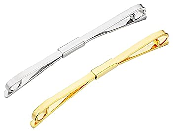Tie Collar Bar Pin Set for Men Classic Collar Clip Set of 2  Style 6