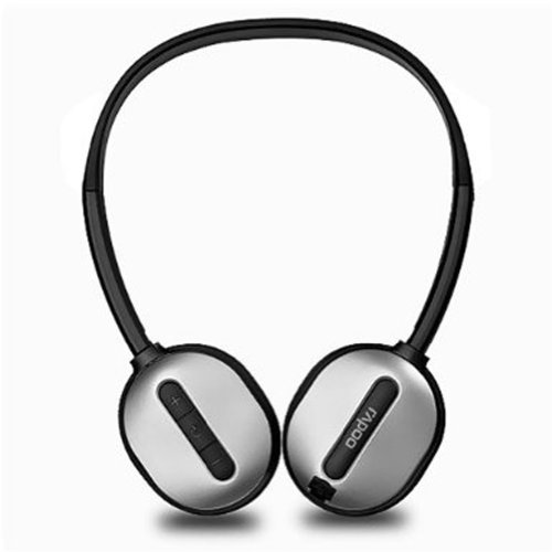 Rapoo 2.4Ghz USB Wireless Headset with Microphone (H1030 Silver)