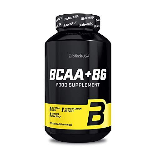 BioTechUSA BCAA+B6, 200 Tabletten