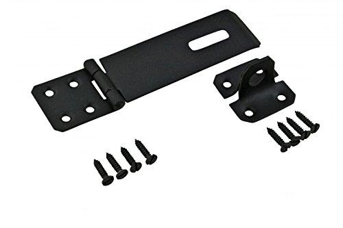 Black Wrought Iron Hasp Lock 5 7/8