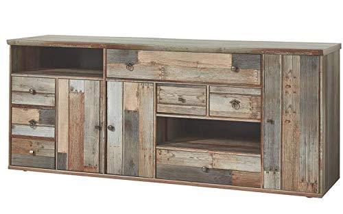 RASANTI Sideboard 3-TRG Bonanza von Innostyle Driftwood Vintagelook