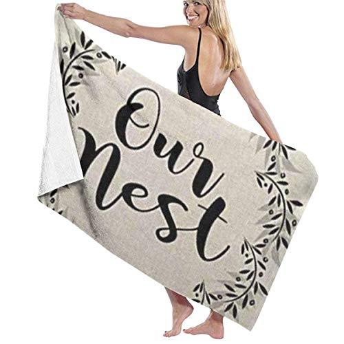 DJNGN Bath Towel Beach Towel,Toallas de baño Grandes y Suaves de Microfibra, Toallas de Playa, Toallas de baño, Toallas de baño, decoración Dulce de Granja