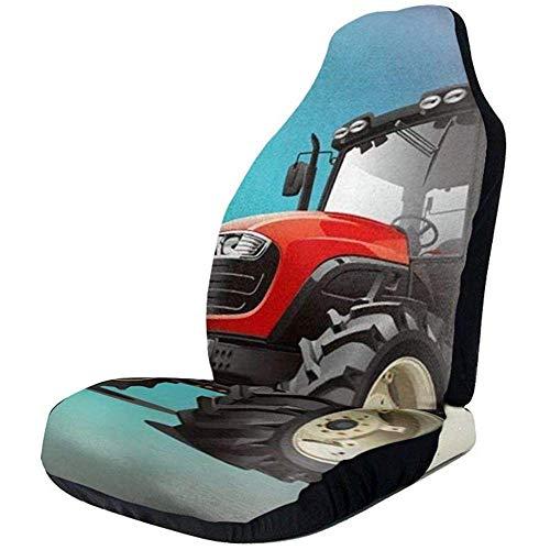 Ro-T Car Seat Cover Coprisedili Anteriori per trattori 2 Pezzi,coprisedili per Auto,sedili Anteriori,Adattamento Universale,SUV,Camion