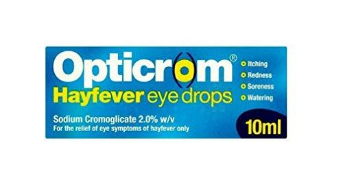 Opticrom Hayfever Eye Drops, 10ml, 3472990