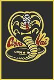 AMELIA SHARPE Blechschild im Vintage-Stil, Motiv: Kobra,