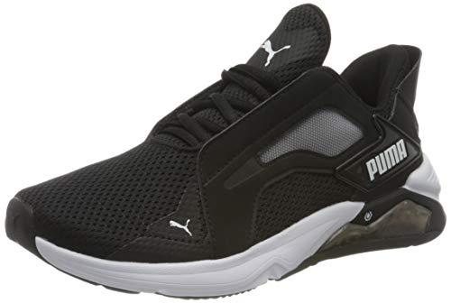 PUMA LQDCELL Method WN'S, Zapatillas de Gimnasio para Mujer, Negro Black White, 42.5 EU