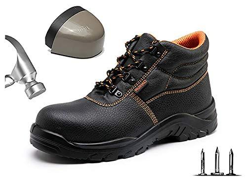 Lichtgewicht werkschoenen heren ademende comfortabele veiligheidsschoenen met stalen neus beschermende schoenen sportief comfort anti-smashing punctie proof wandelschoenen