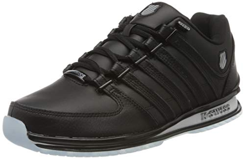 K-Swiss Herren Rinzler SP SB Sneaker, Schwarz (Black/Black/Ice 017), 43 EU