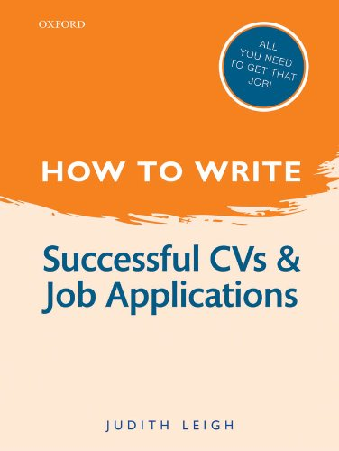 Image OfHow To Write: Successful CVs And Job Applications (English Edition)