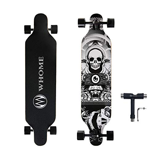 WHOME PRO Longboard Complete for Adults and Beginners