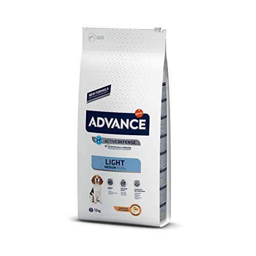 Advance Medium Light + 8 maanden hondenvoer, 12 kg