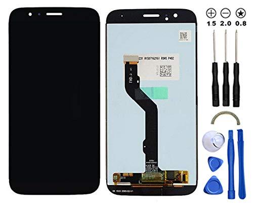 Snailcanfly Reemplazo Asamblea de Digitalizador para Huawei G8 /GX8 Rio L01 L02 L03 AL00 5.5inch Pantalla LCD Táctil Digitalizador Negro