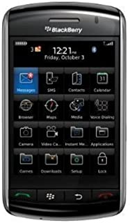 BlackBerry Storm 9500 Unlocked Phone with 3.15 MP Camera (Black)