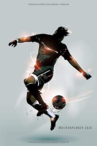 Wochenplaner 2020: Terminplaner 2020 | Jahreskalender A5 | Timer | Geschenk Fussballer Fussball Fans Trainer 2 | 160 S. | A5 |