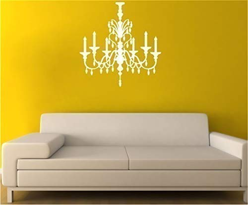 mioawn Wall Quotes Decal Wall Stickers Art Decor Crystal Chandelier for Living Room Bedroom