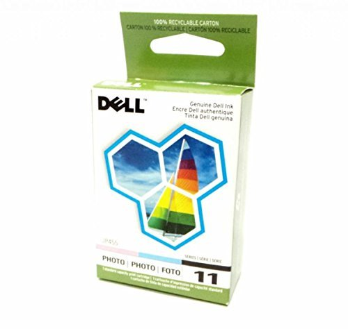 Genuine Dell JP455 Photo Ink Cartridge Series 11 for Printer Model 948, V505 and V505w by Dell