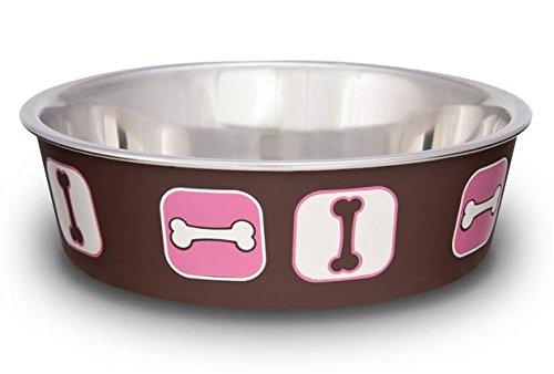 Loving Pets Bella Bol pour Chien Cosmopolitan Pink Grand 1,5 L