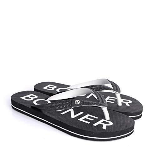 Bogner Mens Palm Beach M1 Schwarz, Herren Sandale, Größe EU 43 - Farbe Black