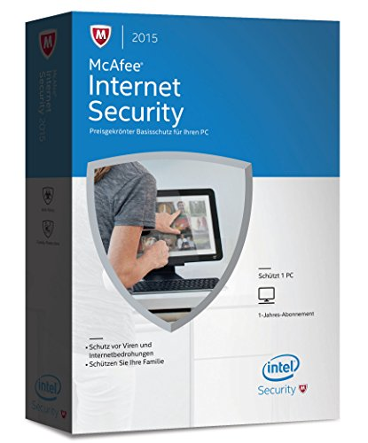 McAfee Internet Security 2015 - 1 PC