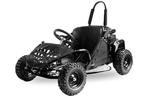 Nitro Motors Buggy GoKid Offroad 80cc E-Start Automatik Kinderbuggy Crossbuggy (Schwarz)