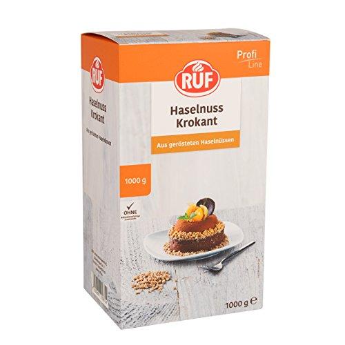 RUF Haselnuss-Krokant Großpackung geröstete Haselnüsse karamellisiert, 1er Pack (1 x 1000 g)