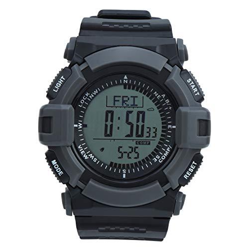 Alomejor Reloj de Buceo Reloj Deportivo Multifuncional Impermeable al Aire Libre para montañismo Natación Camping