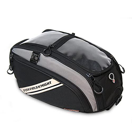 Motocicleta Bolsa de Tanque de Combustible Ciclismo Mochila Impermeable Bolsa de Equitación Navegación Teléfono Móvil Pantalla