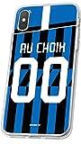 Coque Foot Inter Milan Sony Xperia XZ3 Coque Football Personnalisable en Silicone. Housse de...