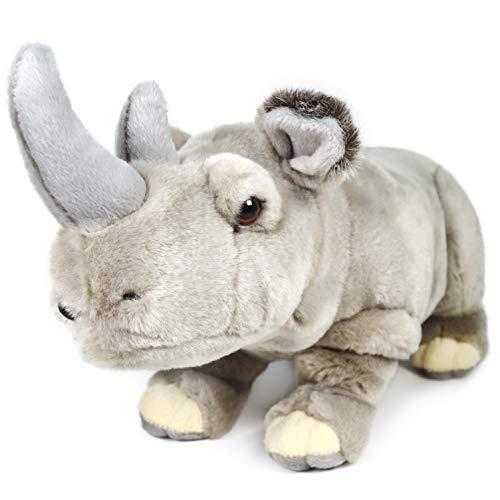 Rhodie The Rhino   12.5 Inch Stuffed Animal Plush Rhinoceros   by Tiger Tale Toys -  VIAHART, 850000897328