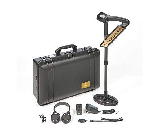 OKM Evolution NTX 3D Scanner Metal Detector, 3D Metal Detector Ground Scanner, Treasure Hunter and Gold Seeker, Underground Treasure and Metal Finder