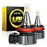 AUXITO H8 H11 H16 LED Fog Light Bulb, Amber Yellow,...