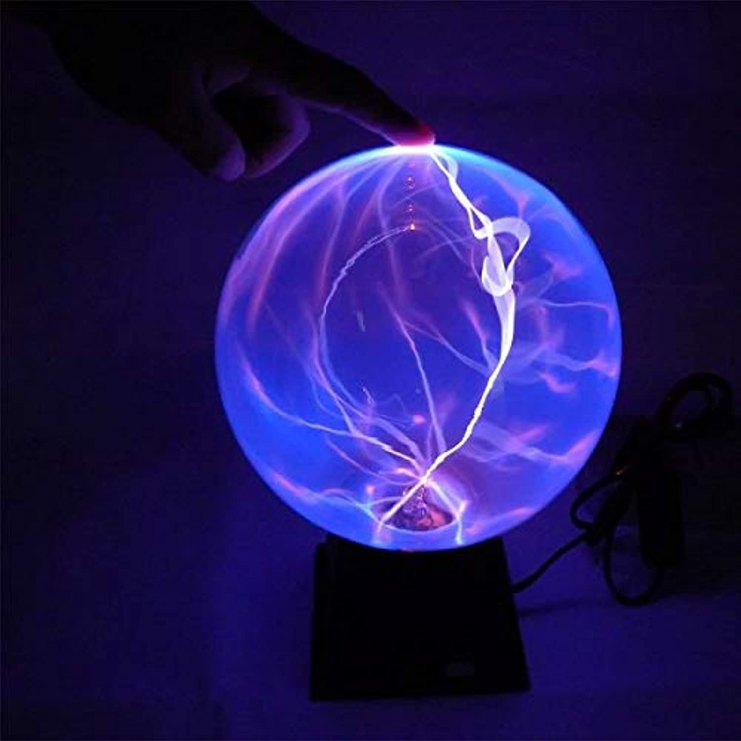6  bluee Plasma Ball Pack of 2 Twin Pack  Value Pack