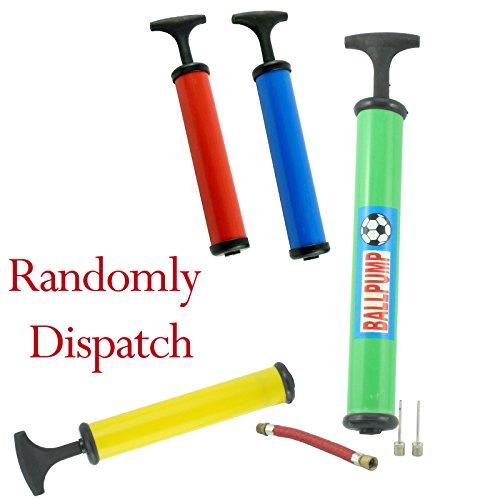 Bid Buy Direct - Pompa per bicicletta e palloni, con 3 connettori